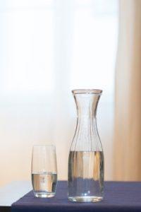 Ausschnitt Glas